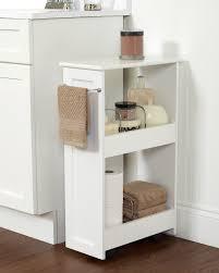 Bathroom Cabinet Organizer Slimline Rolling Bath Cart Zenith Home Corp Zpc