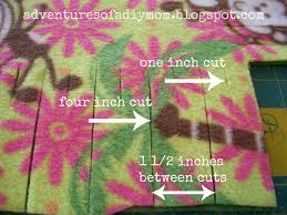 How to Make a No Sew Fleece Blanket - Adventures of a DIY Mom & Want to make your own no sew fleece blanket? Adamdwight.com