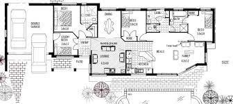 narrow 4 bedroom house plan 170 clm