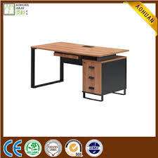 Image Computer Desk Ahz140 China New Design Simple Office Table Wooden Office Desk With Metal Legs Manufacturer Supplier Fob Price Is Usd 10501850piece Globalmarketcom Ahz140 China New Design Simple Office Table Wooden Office Desk