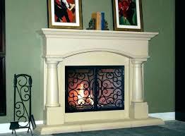 decorative wooden fire screens uk e fireplace covers s insulated on decorative fireplace screens