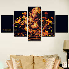 Small Picture Canvas Painting Wall Art Frame Home Decor Pictures 5 Pieces India