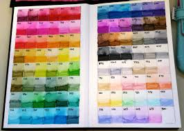 Tombow Marker Color Chart New And Improved Calvin Was Right