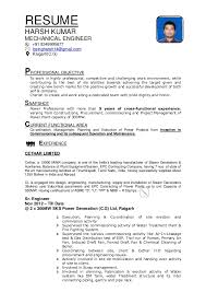 New Resume Format Unique RESUME FORMAT 48 Signed