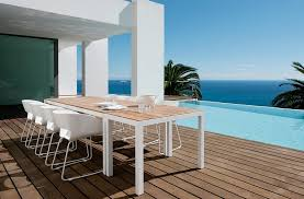 scandinavian outdoor furniture. view in gallery fabulous outdoor dining space next to the pool overlooking ocean scandinavian furniture p
