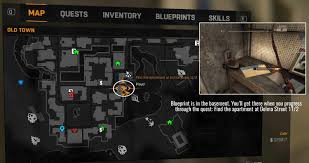 Dying Light God Hammer Dying Light Blueprint Locations Map And List View Gaming Gix