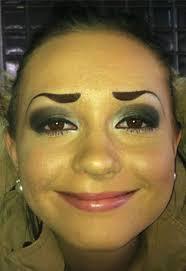 """Résultat de recherche d'images pour """"makeup horrible"""""""