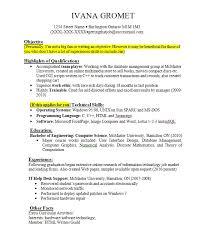 Sample Job Resume With Work Experience Gentileforda Com