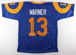 Kurt Jersey Inscribed Rams Coa 17