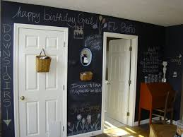 chalkboard wall kitchen portland