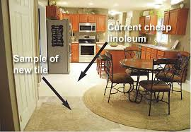 Linoleum Flooring For Kitchen Help Us Pick Our Kitchen Floor Living Rich On Lessliving Rich On