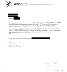 Voluntary Termination Letter Template Layoff Letter Template Sample ...