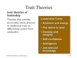 leadership theory theories of leadership