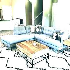 best coffee table for sectional sofa rustic round with sect couch what size coffee table ideal