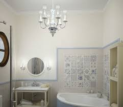 classic pendant chandelier bathroom lighting ideas for small intended for brilliant home small bathroom chandelier ideas