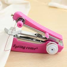 Mini Handheld Sewing Machine How To Use