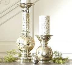 mercury glass pillar candle holders etched mercury glass pillar holders silver mercury glass pillar candle holders uk