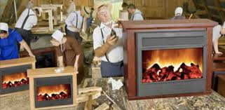 Amish Fireless Fireplace How Do They Work  NomadictradeFireless Fireplace