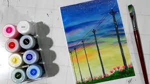 Cách vẽ tranh galaxy bằng màu Nước trên giấy a4 đơn giản - Lovets Art -  multilifevn - Trang tin tức tổng hợp truyến hàng đầu Việt nam