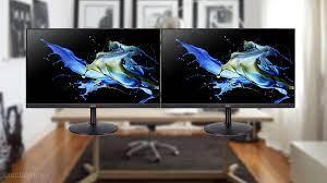 Best Dual Setup Monitors [2021 Buying Guide] - DisplayNinja