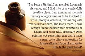 where the writers go to write poetry stories contests and more   com is a wonderful site
