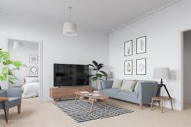 Striped Rug In Living Room Six Scandinavian Interiors That Make The Lived In Look Inspirational