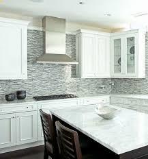 white kitchen grey backsplash. Modren Grey Blue Glass Tile Kitchen Backsplash Elegant White Grey  Mosaic With T