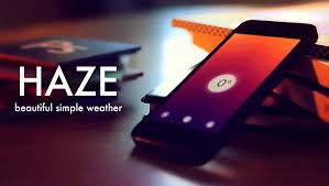 <b>Haze</b> ~ Put some color on your forecast