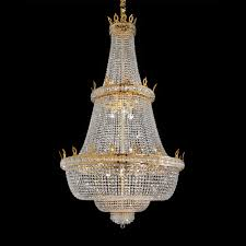 empire style crystal basket chandelier