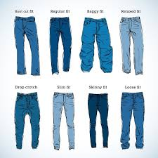 Baldwin Denim Size Chart Denim Fit Vector Sketch Set Store Clothes Good Flayers In