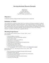 Cna Sample Resume Delectable Resume Sample For Cna Resume Sample With No Experience Resume