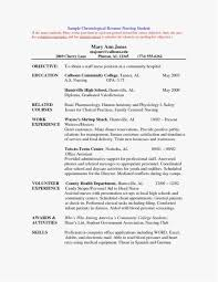 18 Resume Sample For New Graduate Download Best Resume Templates