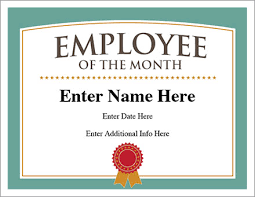 Employee Of The Month Free Online Online Gift Ideas Employeemonthl Personalised Mothers Day