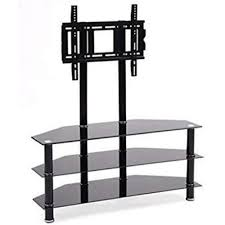 tv stand with shelves. Perfect Shelves Impressions TV Stand With 3 Shelves Tempered Glass 32 On Tv