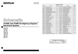 3126b 3126e electrical dwgs electrical schematics and sensor locations cat 3126 engine electrical drawings pg 1 jpg