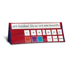 Place Value Tabletop Pocket Chart Id 17573