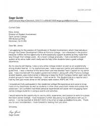 First Class College Student Cover Letter 4 Cover Letters For