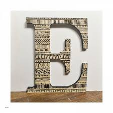 decorative metal letters wall art fresh ampersand wood letter and sign tribal print wood initial