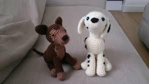 Free Crochet Dog Patterns Unique Dalmatian And German Shepherd Free Amigurumi Dog Crochet Pattern