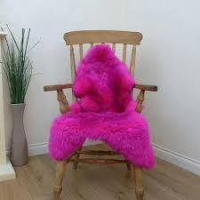 pink sheep skin rug hot pink faux sheepskin rug