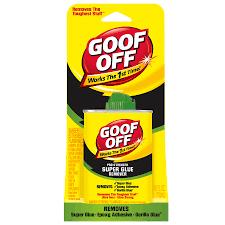 goof off 4 fl oz adhesive remover
