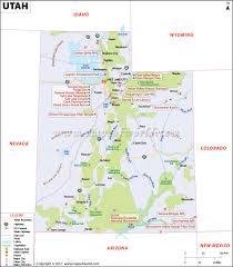 utah map map of utah ut map