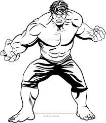 Disegno Di Hulk Dal Film Da Colorare
