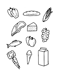 The theme food is split into several parts. Free Printable Coloring Pages Food Coloring Home