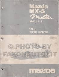 mazda mx miata wiring diagram manual original both 1990 mazda mx 5 miata wiring diagram manual original both automatic and manual