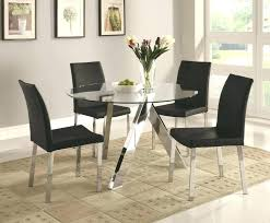 round glass dining table dining set for 4 nice modern glass dining table set