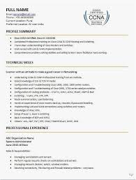 19 Ccna Resume Examples Example Best Resume Templates