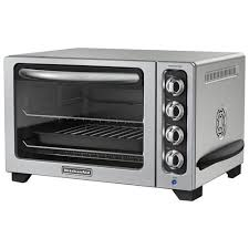 kitchenaid kco223cu toaster oven broil toast bagel bake reheat keep
