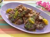 baked chutney lamb chops