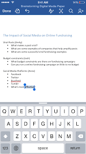 tackle your next group project word for ipad and iphone word for ipad and iphone 1